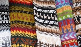 Cobertores do Inca Fotografia de Stock