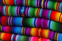 Cobertores mexicanos Foto de Stock
