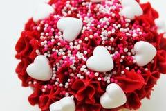 Cobertura do Valentim Fotografia de Stock Royalty Free