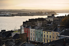 Cobh, Co.Cork,爱尔兰 免版税库存图片
