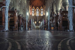 Cobh Cathedral interiors Stock Photography