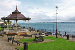 Cobh, County Cork, Ireland. Kennedy Park at the coastal town of Cobh in Ireland Stock Images