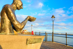 COBH, IRELAND - NOVEMBER 26:. COBH, IRELAND - NOVEMBER 26 : Statue entitled The Navigator in John F. Kennedy Park on November 26, 2012 in Cobh Co. Cork Ireland Royalty Free Stock Images