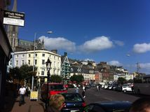 Cobh, Irlande Image libre de droits