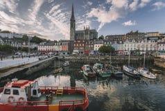 Cobh, liège du comté, Irlande Photographie stock