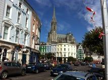 Cobh stad Irland Royaltyfria Foton