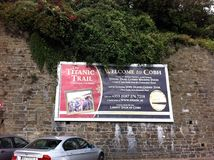 Cobh stad Irland Royaltyfri Bild