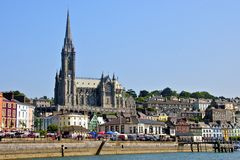 Cobh-Stadtgrafschaft Cork Ireland Stockfotografie