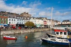 Cobh town. Irland Royaltyfria Bilder