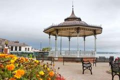 Cobh town. Irland Arkivfoto