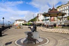 cobhireland town Royaltyfri Fotografi