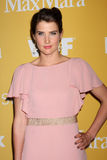 Cobie Smulders arrives at the City of Hope's Music And Entertainment Industry Group Honors Bob Pittman Event Royalty Free Stock Photo