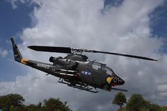 Cobra Attack Helicopter Stock Photography
