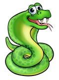 Cobra de la serpiente de la historieta Fotografía de archivo libre de regalías