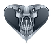 Cobra do ferro ilustração royalty free