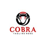 Cobra Logo Template Image stock
