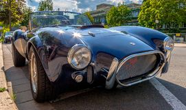 Cobra sports car Stock Photography