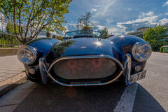 Cobra sports car Royalty Free Stock Photo