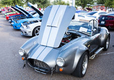 Cobra sports car Stock Image