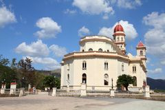 Cobre basilica in Cuba Royalty Free Stock Images