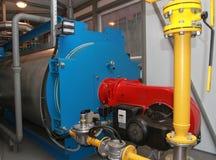 Cobre del gas con la hornilla Fotografía de archivo libre de regalías