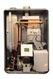 Cobre Water-heating fotografia de stock
