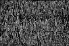 Cobrir com sapê o fundo do telhado, feno ou o fundo da grama seca, cobre com sapê o telhado Imagens de Stock Royalty Free