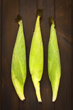 Cobs of Sweet Corn Royalty Free Stock Photos