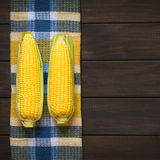 Cobs of Sweet Corn Royalty Free Stock Photo
