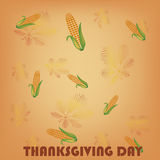 Cobs in thanksgiving day Stock Photo