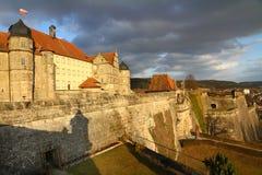 coburg fästning Arkivbild