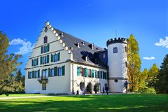 Schloss Rosenau. COBURG, GERMANY - CIRCA OCTOBER, 2017:  Schloss Rosenau, a palace in Rosenau near Coburg, Bavaria, Germany Royalty Free Stock Photo