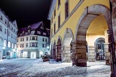 Coburg at night Royalty Free Stock Image