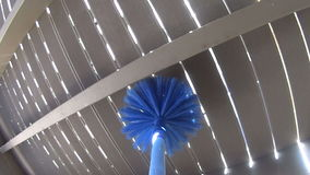 Cobweb Cleaner POV Royalty Free Stock Photo