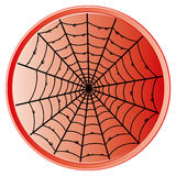 Cobweb icon. Royalty Free Stock Photo