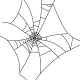 Cobweb. Illustration of an abstract Cobweb Royalty Free Stock Photo