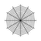 Cobweb Rengöringsduk för spindel` s royaltyfri illustrationer