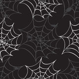 Cobweb seamless pattern Royalty Free Stock Images
