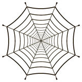 Cobweb  spiderweb gossamer. Cobweb, spiderweb  gossamer on white background, vector web Royalty Free Stock Images