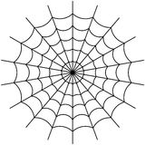 Cobweb vector. Vector illustration of cobweb isolate on white Stock Images