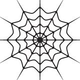 Cobweb. Vector illustrations of the Cobweb Stock Photo
