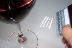 Cocaína Imagens de Stock