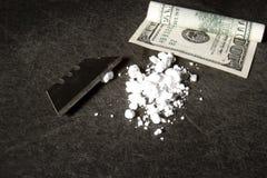Cocaína foto de archivo