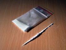 Cocaïne Photo libre de droits