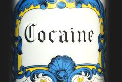 Cocaïne royalty-vrije stock foto