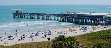Coca Beach Pier images stock
