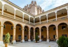 Coca Castle, Castillo de Coca in Segovia province Stock Image
