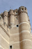 Coca Castle, Castillo de Coca in Segovia province Royalty Free Stock Images