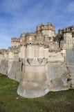 Coca Castle, Castillo de Coca in Segovia-Provinz Lizenzfreies Stockfoto