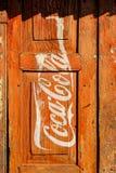Coca-Cola advertisement Stock Photos